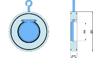 Wafer Type Swing Check Valve 02