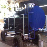 Tractor Driven Sewage Tank