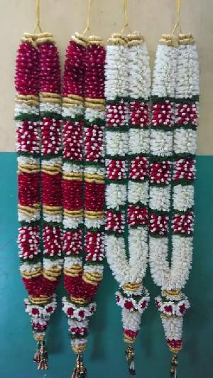 Fresh Flower Wedding Garlands Supplier/Manufacture/Exporters In India