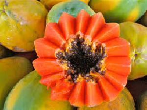 Fresh Indian Sweet  Papaya