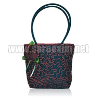 Plastic Tube Handle Handbags