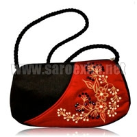Silk Rope Handle Handbags