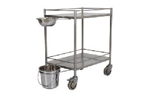 Stainless Steel Dressing Trolley 02