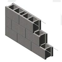 Ladder Type Block Reinforcement Mesh