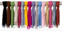 Plain Solid Colour Viscose Pashmina Scarves