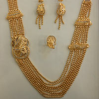 Golden Necklace Sets