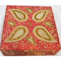 Beaded Zari Handcrafted Boxes