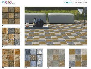 396x396 mm Digital Floor Tiles