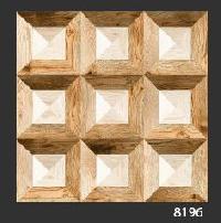 500x500 mm Digital Rustic Wooden Floor Tile (8196)
