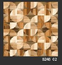 500x500 mm Digital Rustic Wooden Floor Tile (8248_02)