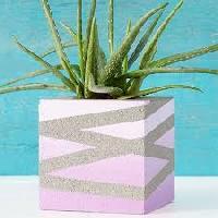 Concrete Flower Block 04