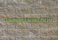 Split Face Concrete Block 01