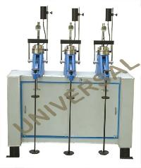 Three Gang Consolidation Testing Apparatus