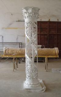 Fiber Wedding Pillars