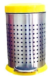 Stainless Steel Deluxe Dustbin 10
