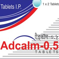 Adcalm-0.5 Tablets