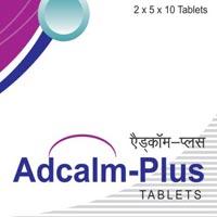 Adcalm -Plus Tablets