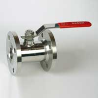 1 PC Flanged Ball Valve