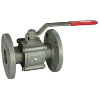 3 PC Flanged Ball Valve
