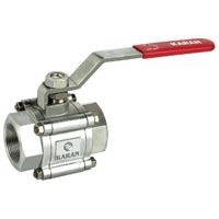 3 PC Screwed Ball Valve