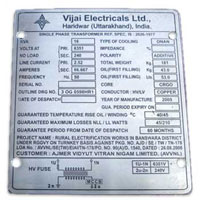 Stainless Steel Name Plate 01