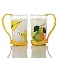 2 Piece Beer Mug Set