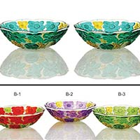 2 Piece Glass Bowl Set