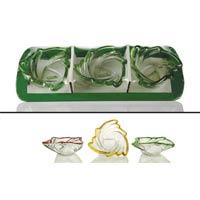 3 Piece Glass Bowl Set