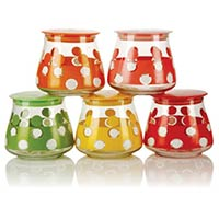 5 Piece Glass Jar Set