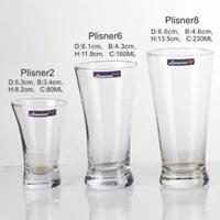 7 Pieces Glass Plain Water Tumbler
