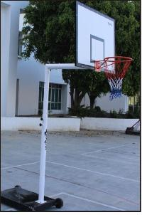 Basketball Pole 02