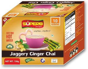 Superb Instant Jaggery Ginger Tea