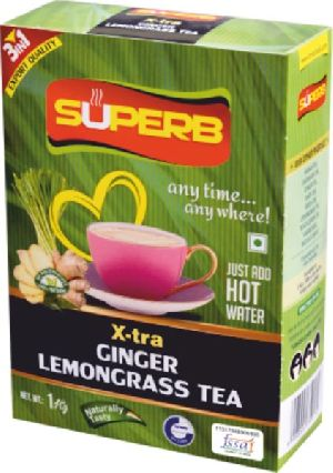 Superb X-Tra Ginger Lemongrass Tea
