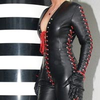 Ladies Leather Catsuits