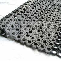 Hollow Rubber Mat 04