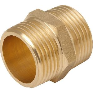 Brass Male Nipple