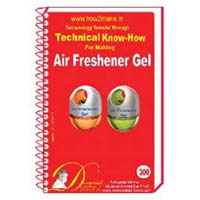 Air Freshener Gel Formulation (eReport)