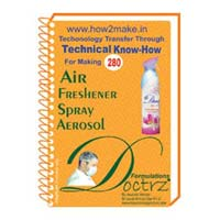 Air Freshener Spray Aerosol Formulation (eReport)