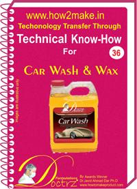 Car Wash & Wax Formulation (eReport)