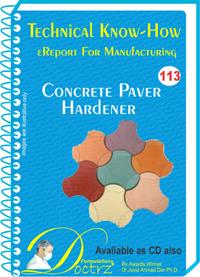 Concrete Paver Polish Manufacturing Formulation (eReport)