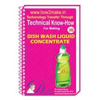 Dish Wash Liquid Concentrate Formulation (eReport)