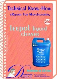 Ieepol Liquid Cleaner Formulation (eReport)