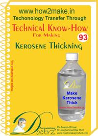 Kerosene Thickening Formulation (eReport)