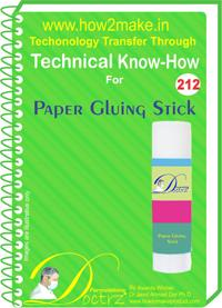 Paper Gluing Stick Formulation (eReport)
