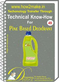 Pine Based Deodorant Formulation (eReport)