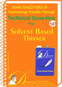 Solvents and Thinners Formulation (eReport)