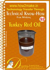 Turkey Red Oil Formulation (eReport)