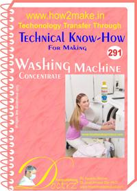 Washing Machine Concentrate Formulation (eReport)