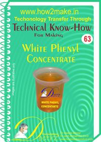 White Phenyl Concentrate Formulation (eReport)
