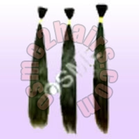 Single Drawn Remy Human Hair